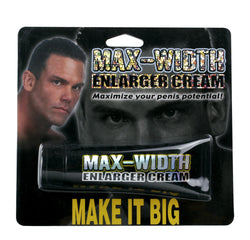 Max Width Enlarger Cream 1.5 oz. - Red Rose Toys