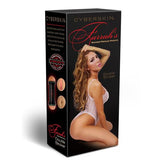 Farrah Abraham Celebrity Cyberskin Double Ended Male Masturbator - Red Rose Toys