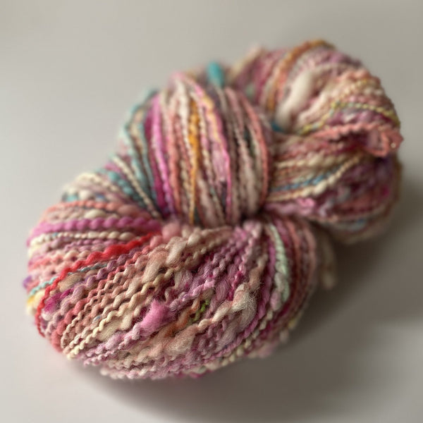 "Handspun Art Yarn ""Carnival"" 277 yards"