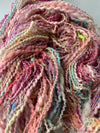 "Handspun Art Yarn ""Rock Candy"" 177 yards"