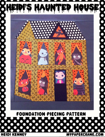 Heidi's Haunted House pattern PDF (digital download)