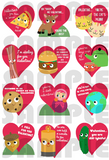 Valentine PDF 2015 (digital download)