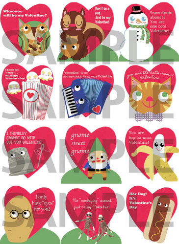 Valentine PDF 2012 (digital download)