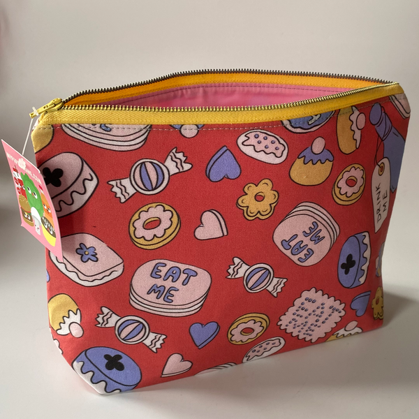 Large Zippered Bag 10x6""