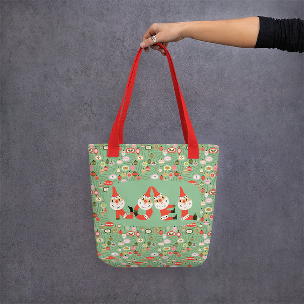 Santa Noel Christmas Tote Bag