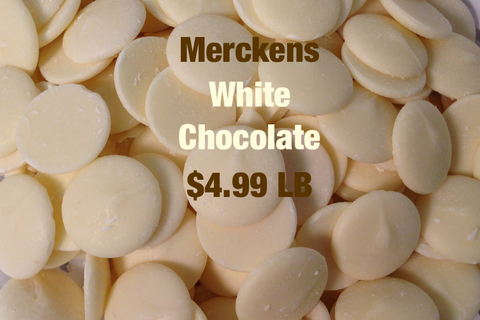 Merckens White Chocolate
