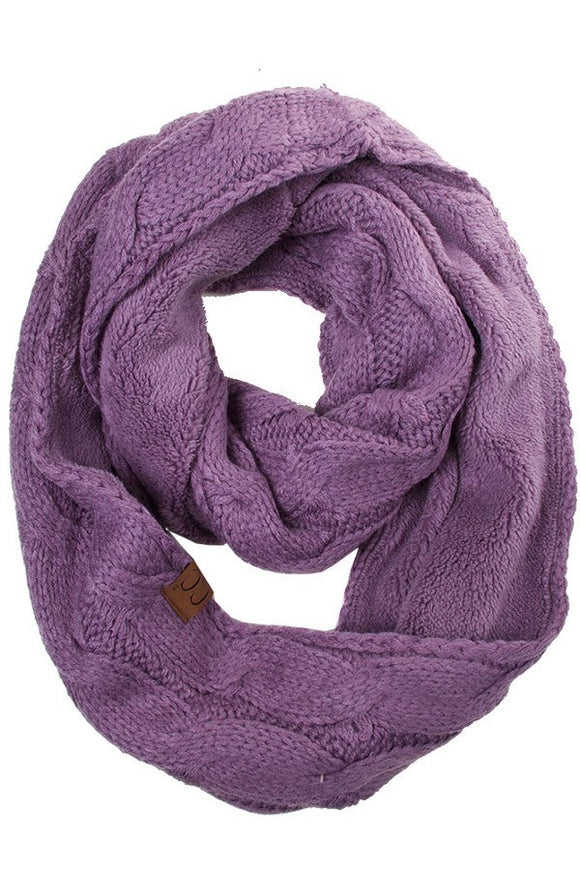 Infinity Scarf Violet