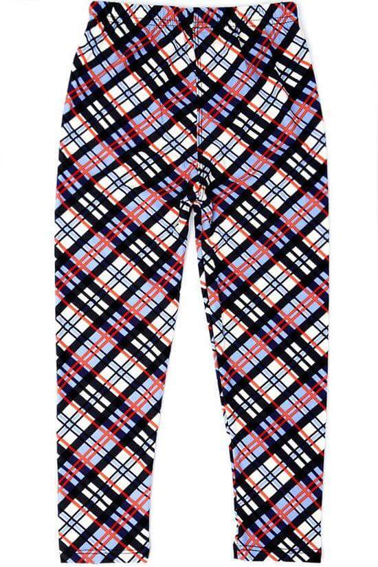 Pleasantly Plaid Kids Junior