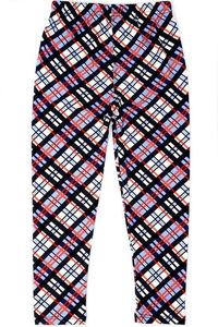 Pleasantly Plaid Kids L/XL