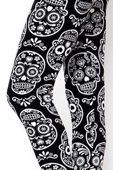 White Sugar Skulls Kids Junior