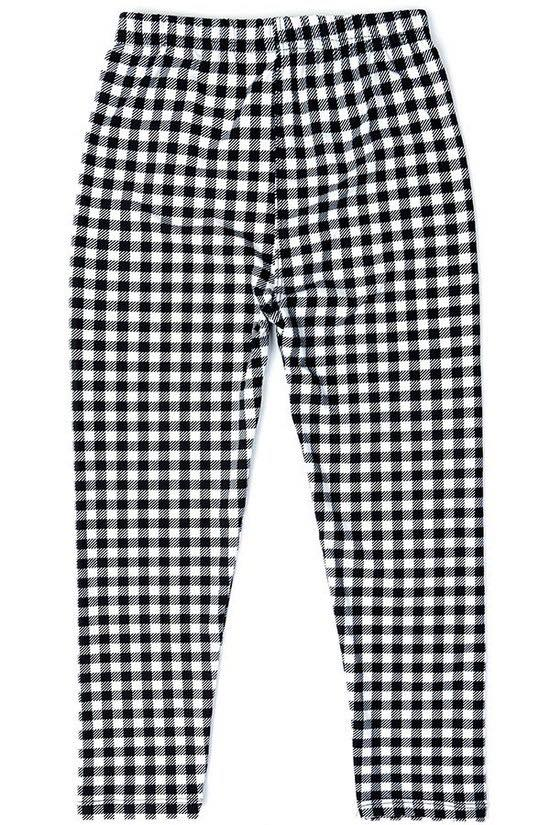Checkered Plaid Kids Junior