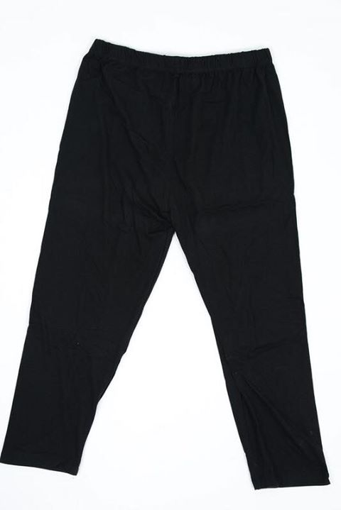 Solid Black Capri Kids Junior