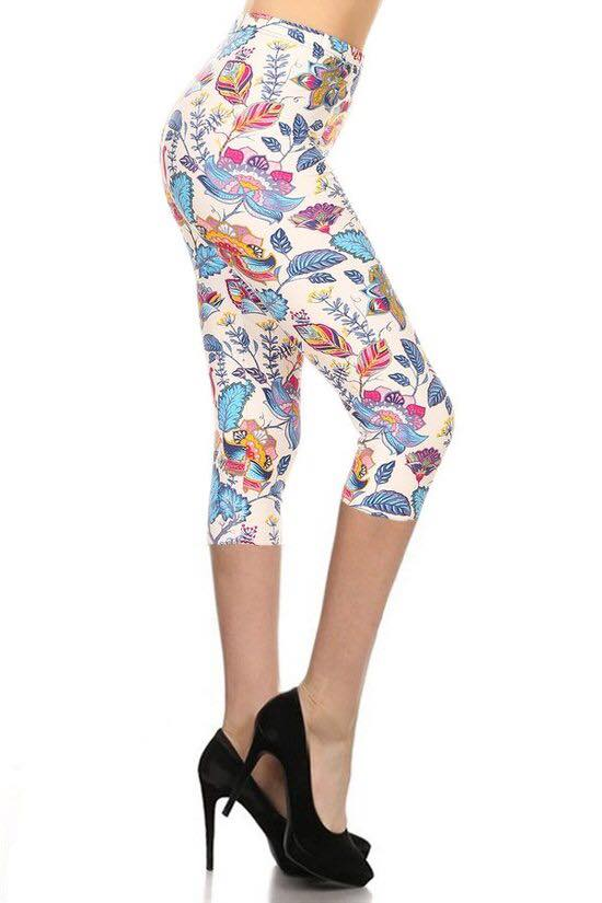 Colouring Book Floral Capri