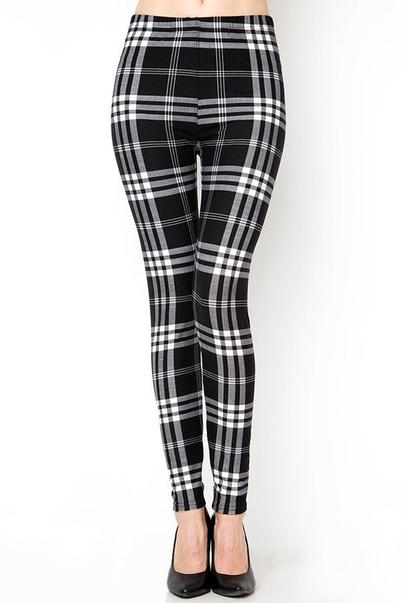 Black & White Plaid 2.0
