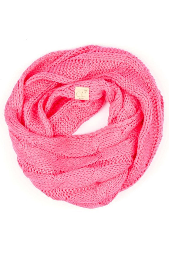 Infinity Scarf Hot Pink