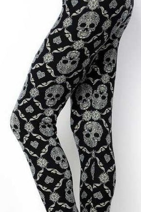 Damask Skulls Kids Junior