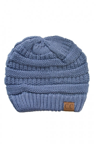Beanie Denim Blue
