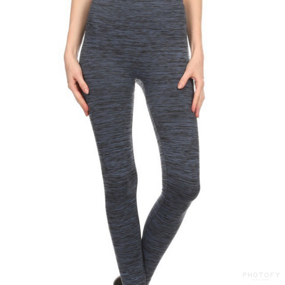 Fleece Lined Legging Adult - Blue