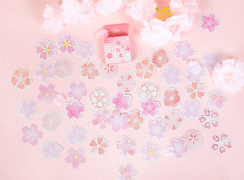 Cherry Blossom Box Stickers Set B