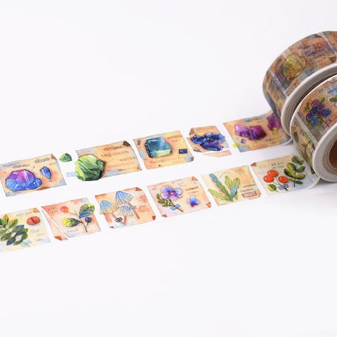 Crystals and Plants Washi Tape