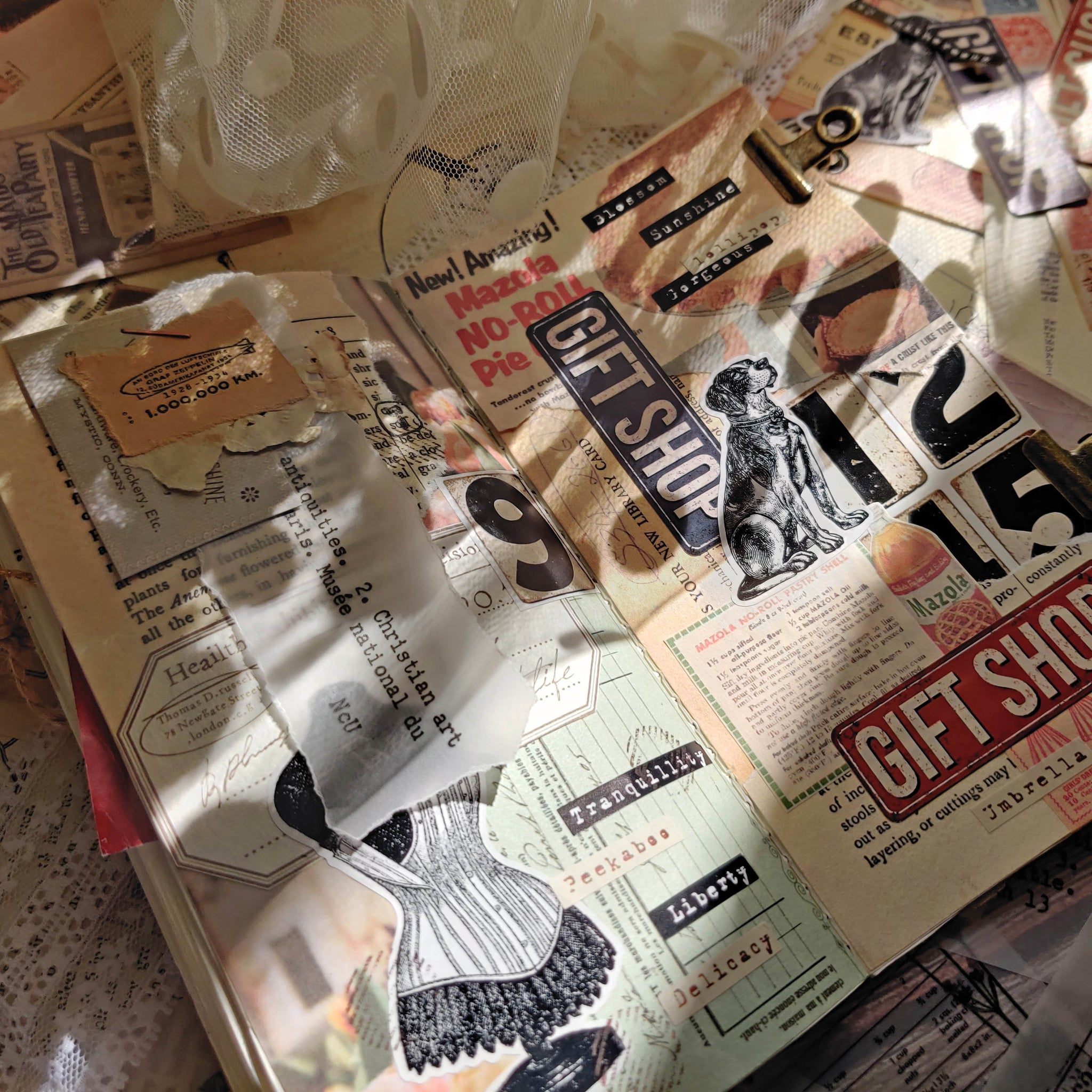 Junk Journal Ephemera Kit - Collection 9