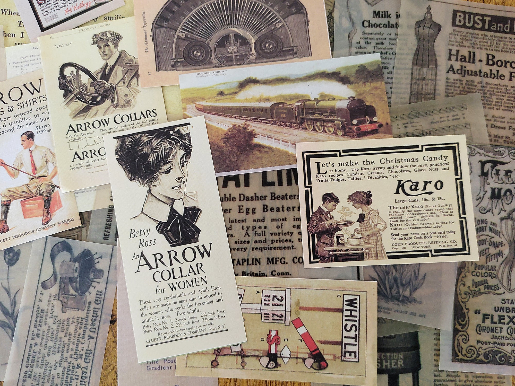 Junk Journal Ephemera Kit - Collection 7
