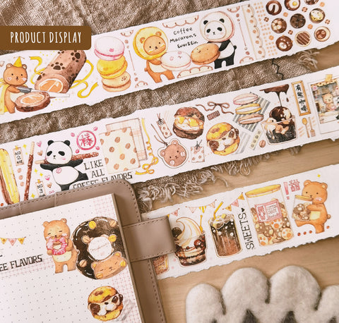 EverEin Washi Tape: Beary Sweet Treats