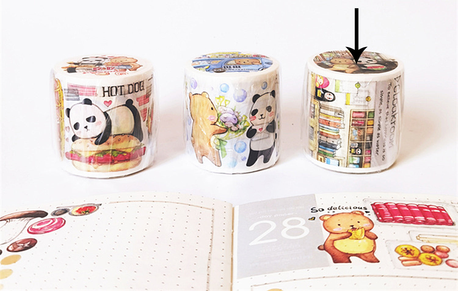 EverEin Washi Tape: Daily Life Snapshots