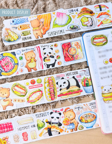 EverEin Washi Tape: Let's Eat
