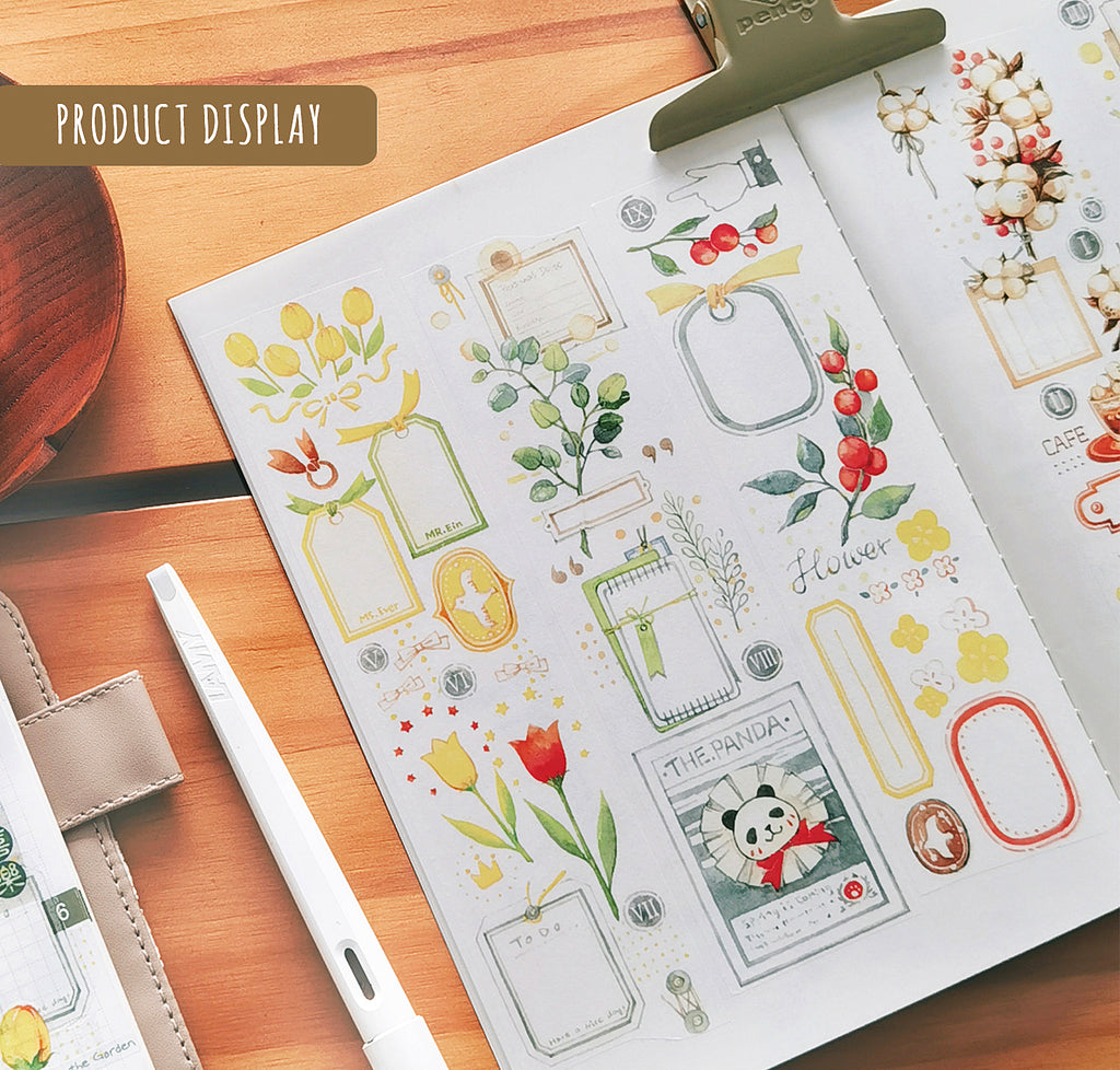 EverEin Washi Tape: Plant Tags