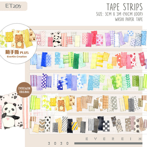 EverEin Washi Tape: Colorful Tapes