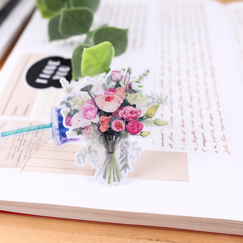 Flower Bouquet Stickers Pack