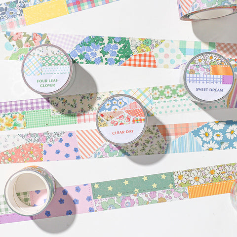 Flower Quilt Washi Tape