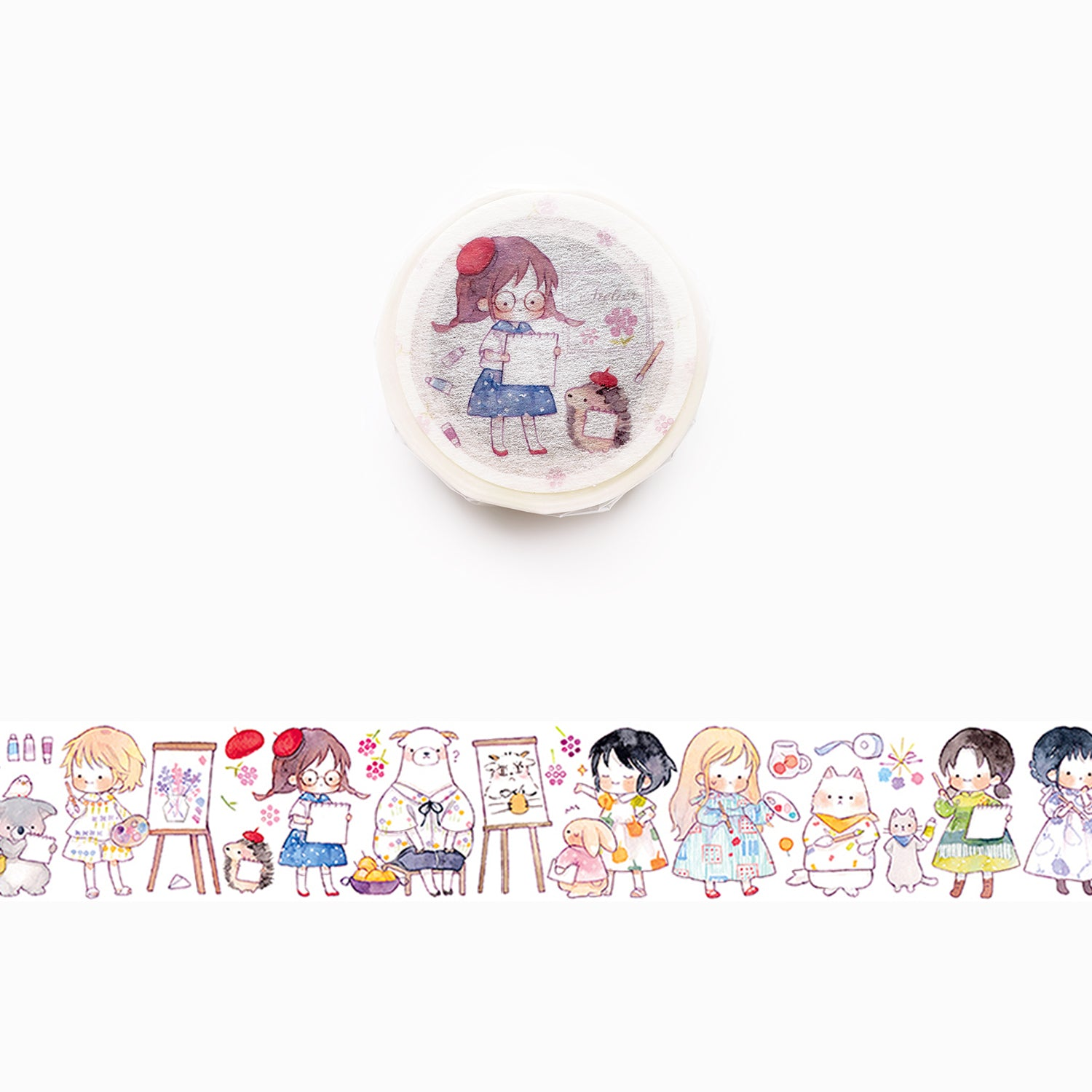 Hayama Washi Tape: Atelier Girls