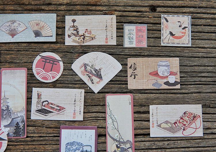 Edo Japan Paper Die-Cuts