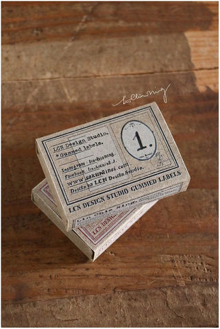 Specimen Gummed Labels 1