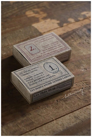 Specimen Gummed Labels 2