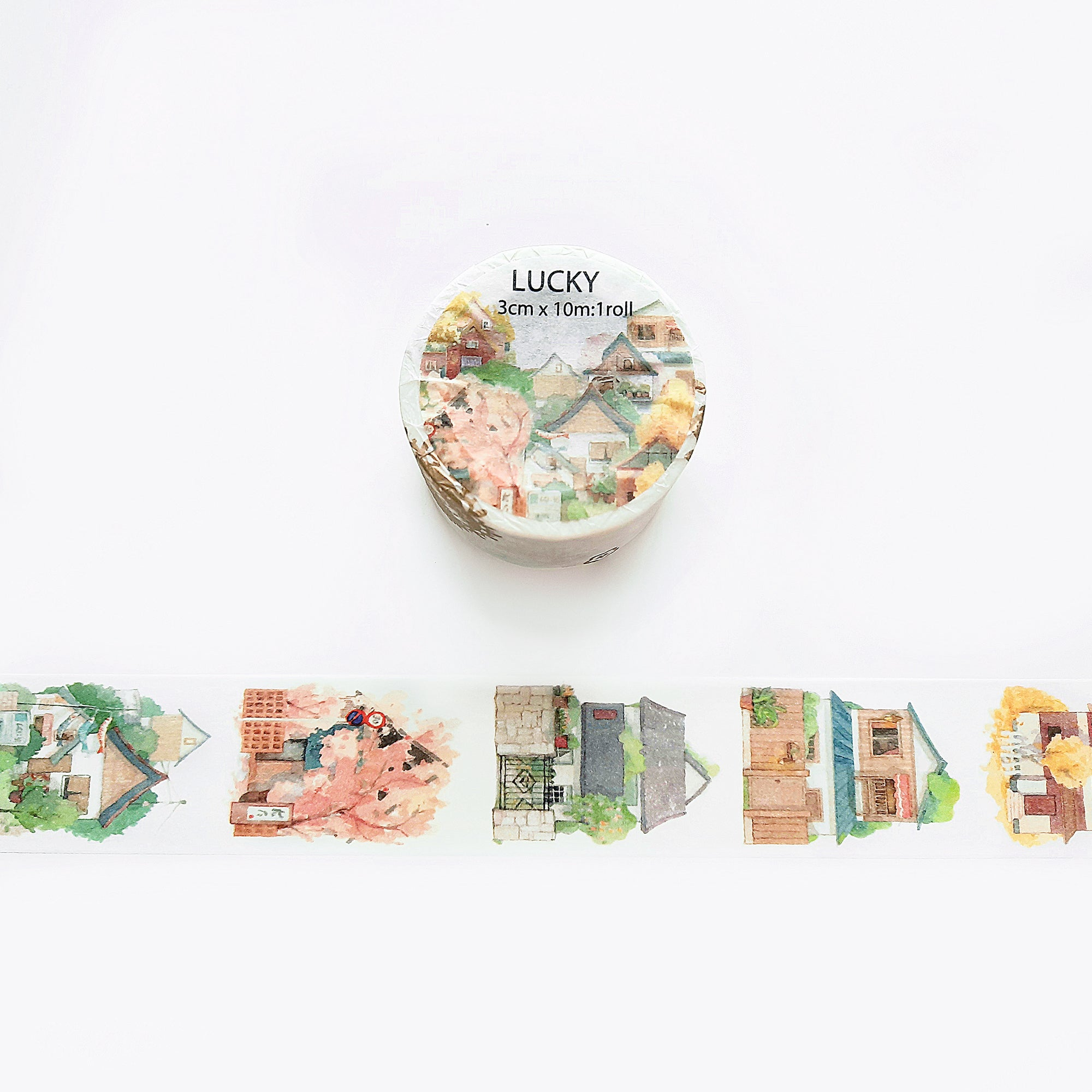 Lucky Washi Tape: Sweet Home