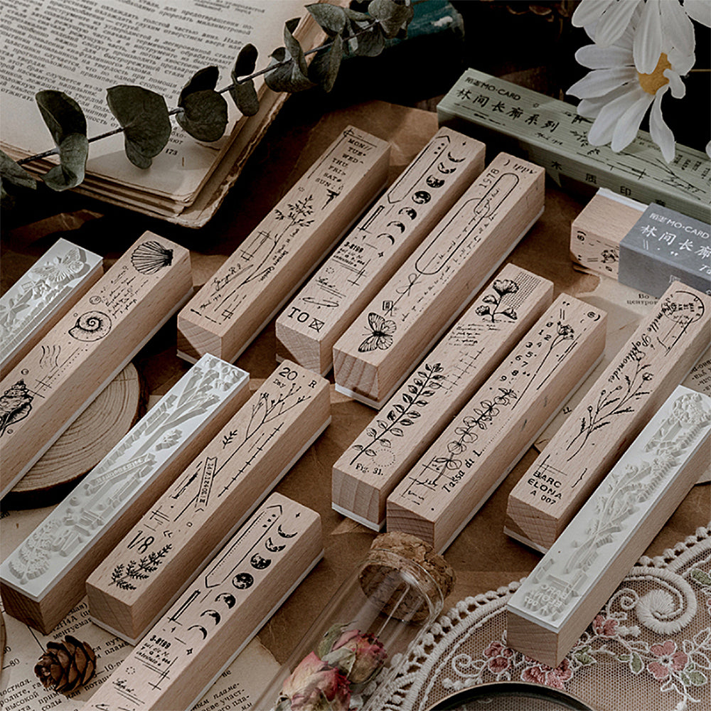 Natural Concerto Wooden Stamps