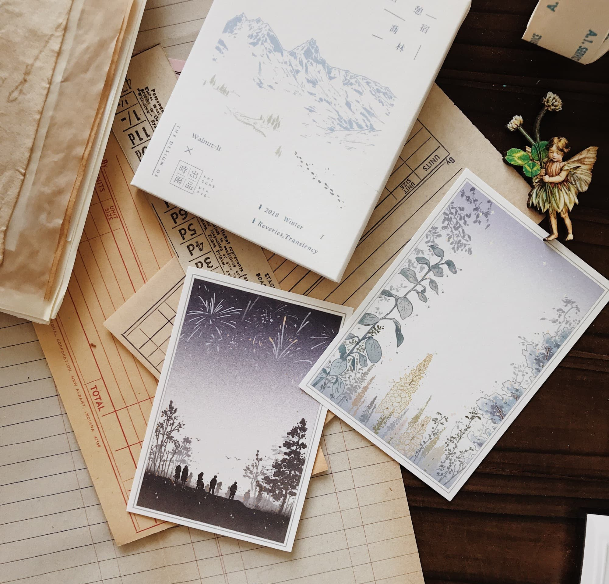 Shigure Studio Paper Set