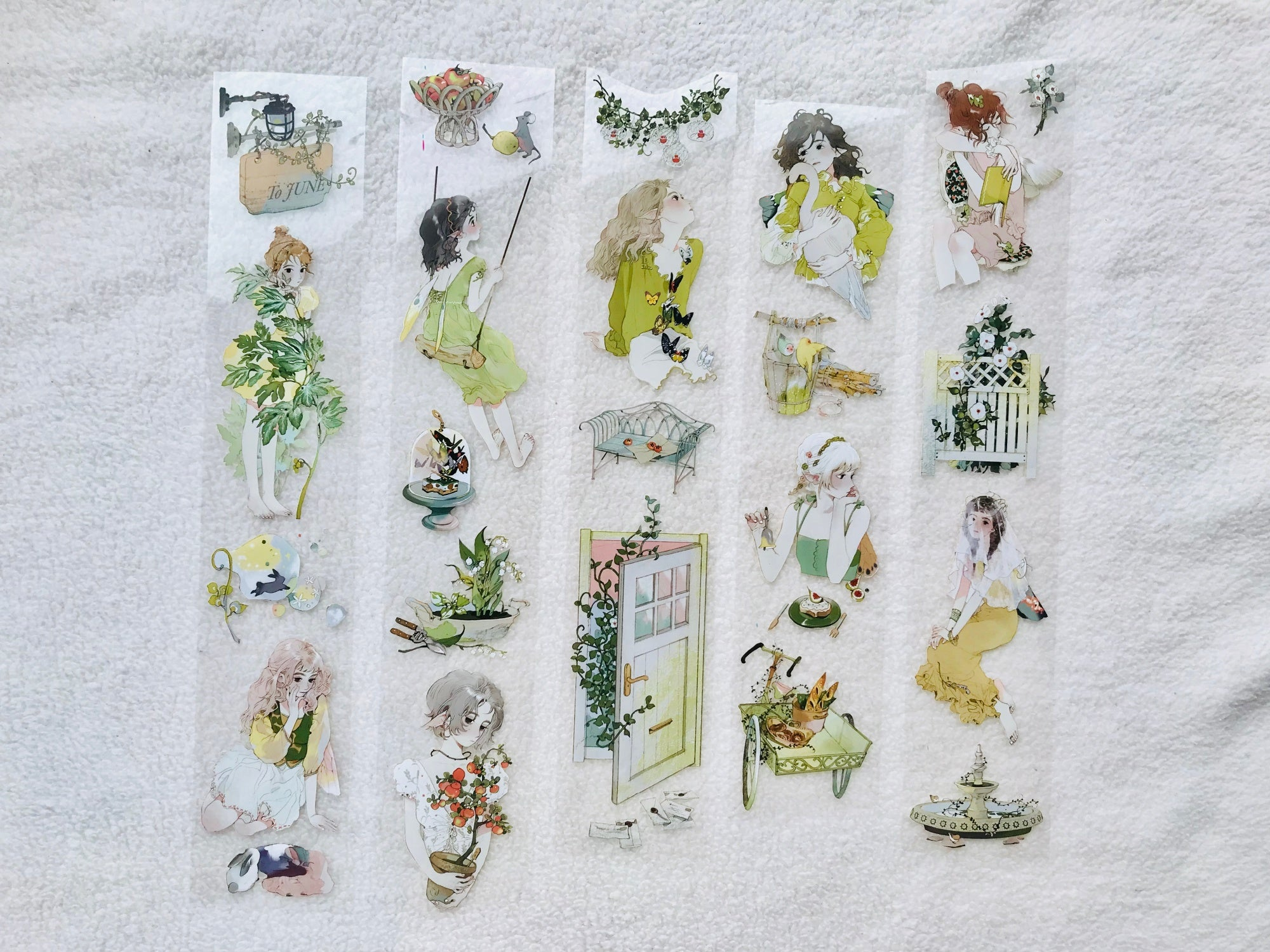 Talkness Studio Clear Tape: Secret Garden