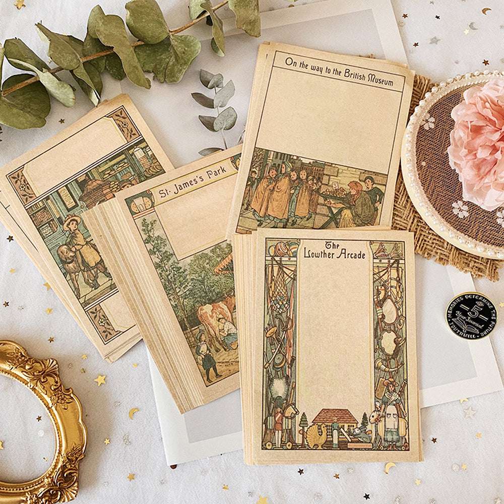 Medieval Art Themed Memo Paper