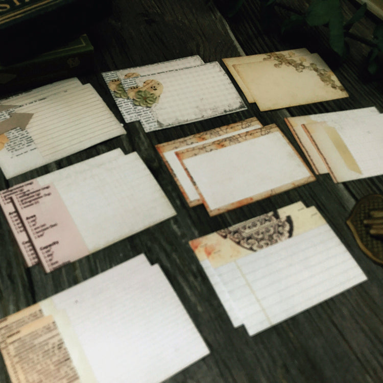 Vintage Style Note Cards