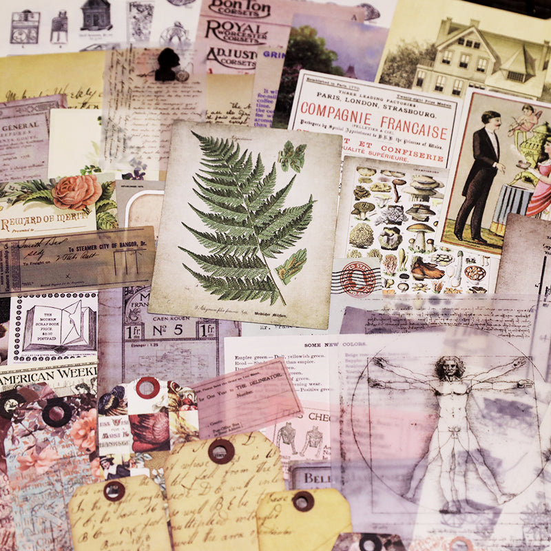 Junk Journal Ephemera Kit - Collection 3