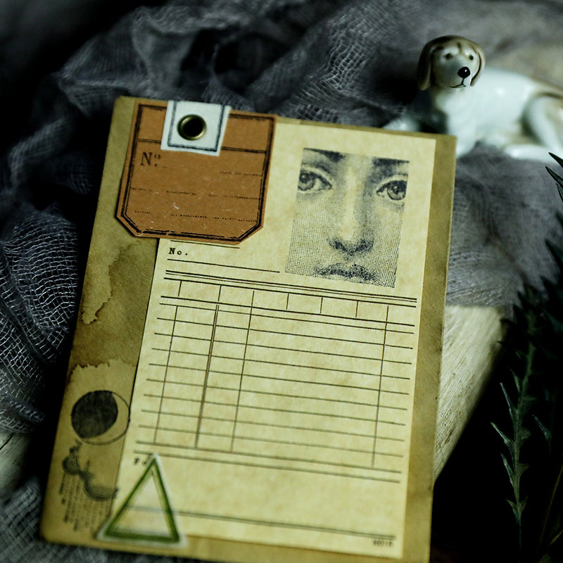 Analog Documentation Wooden Stamps