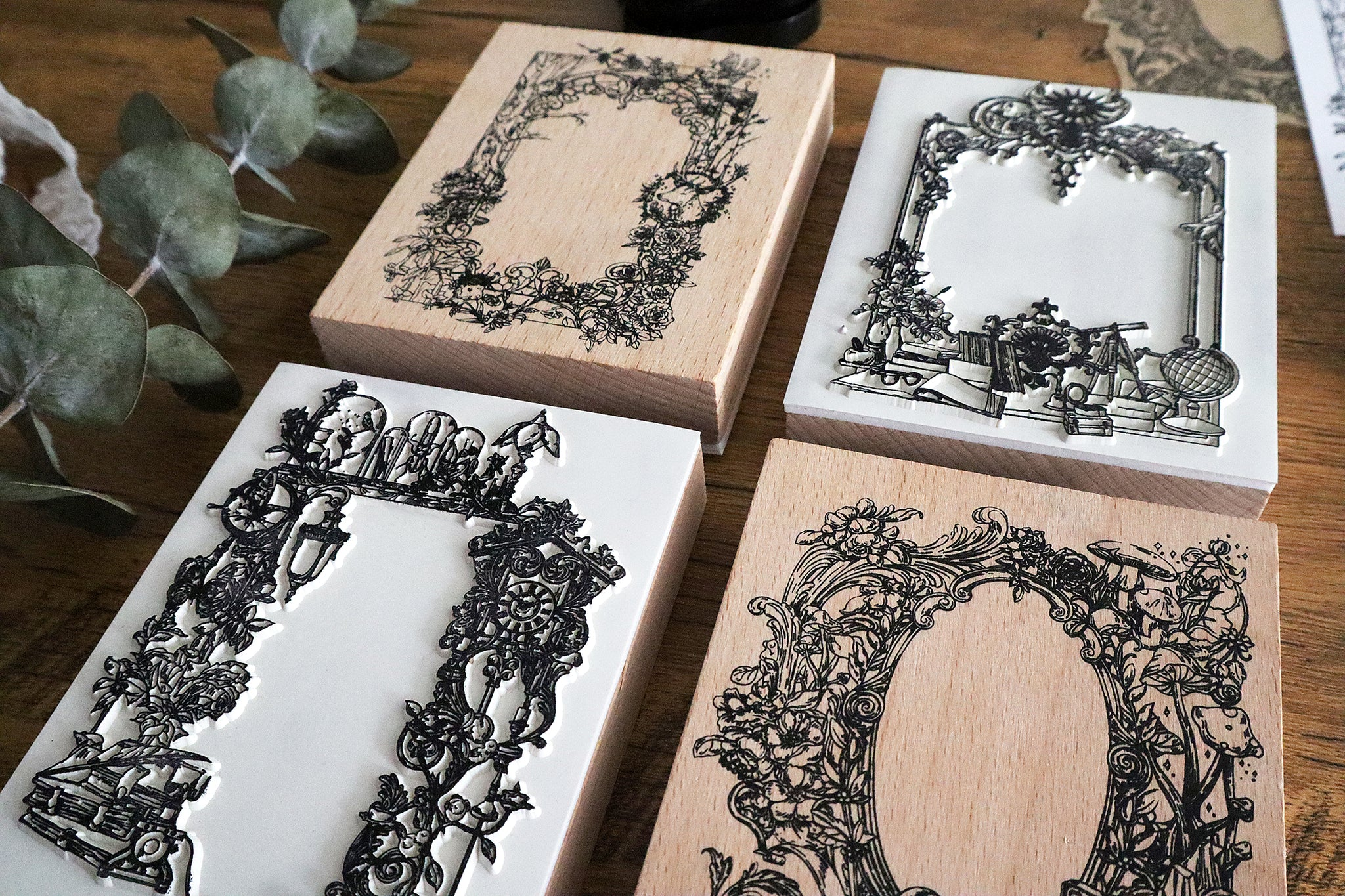 Extra Large Wooden Frames Stamp