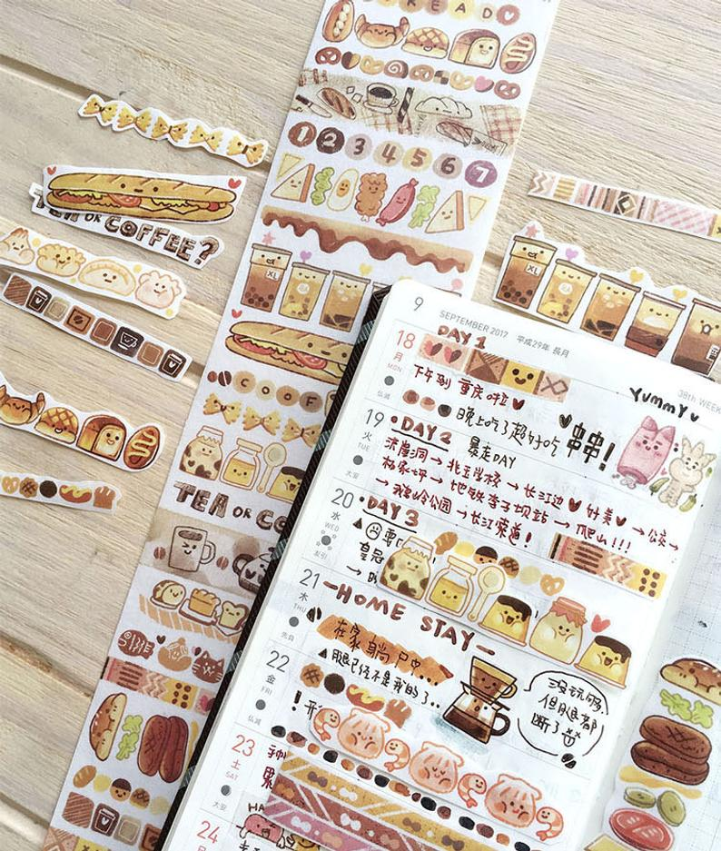 Meatball Washi Tape: Color Lab Series