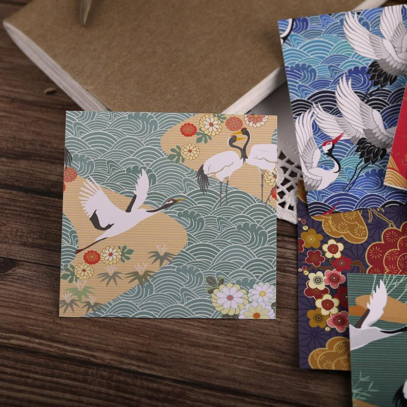 Japanese Patterns Stickers Pack