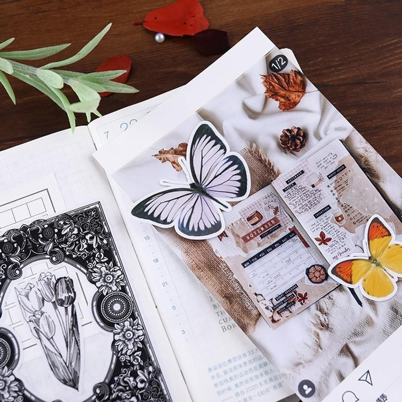 Vinyl Butterfly Stickers Pack