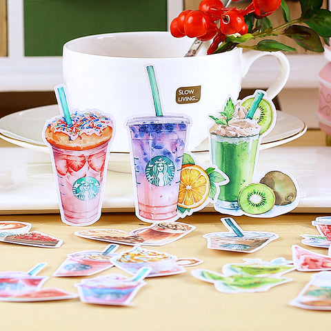 Starbucks Summer Drinks Sticker Pack